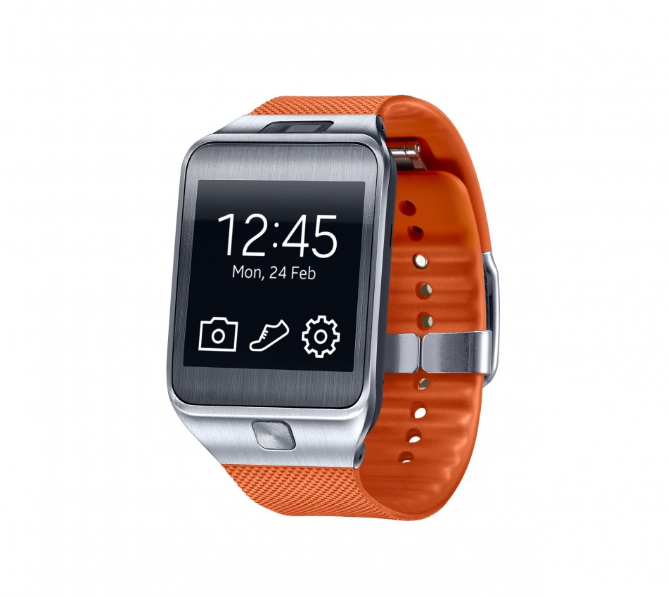 Samsung Gear Fit-New Wearable from Samsung