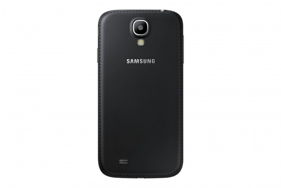 Samsung Galaxy S4 Black Edition With Faux Leather Cover