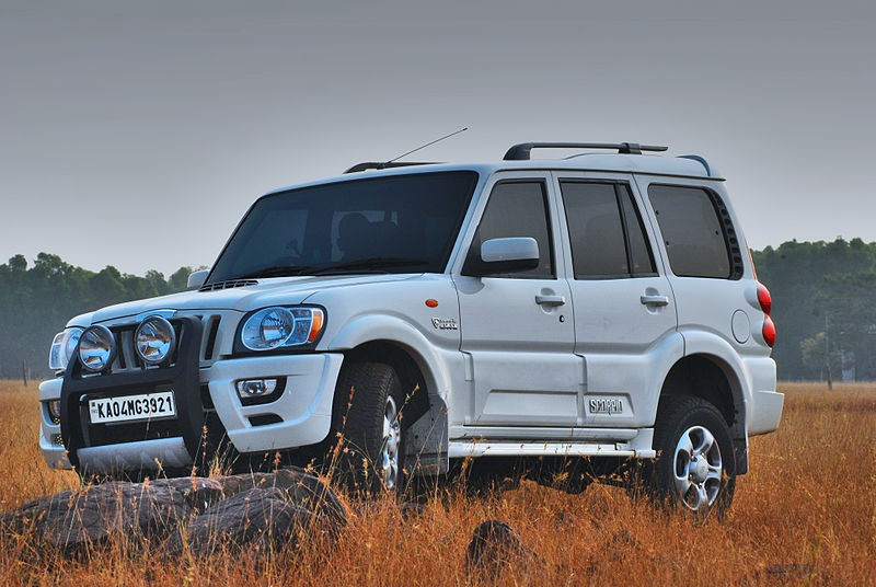 Mahindra Scorpio With Bulletproof Kit Price Availability