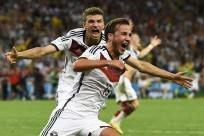Mario Goetze and Thomas Mueller