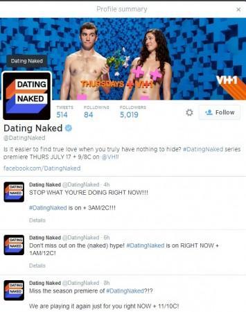 Naked dating website