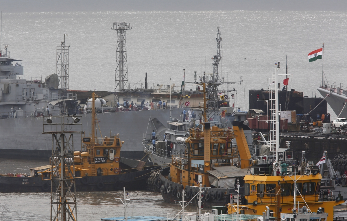 Indian Navy Vessel Sinks Off Vizag One Killed 4 Missing