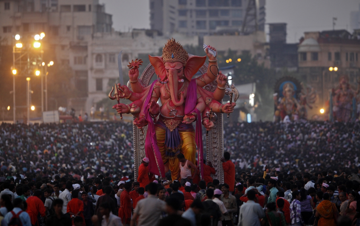 Ganesh Chaturthi 2014: India Celebrates 10-Day-Long