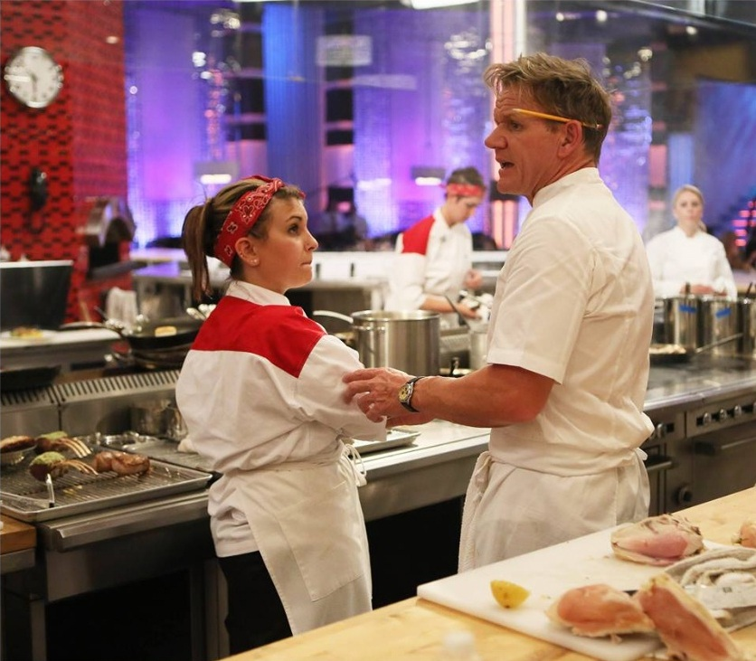 Hels Kitchen: 'Hell's Kitchen' Season 13 Episode 3 Recap: Denine Or