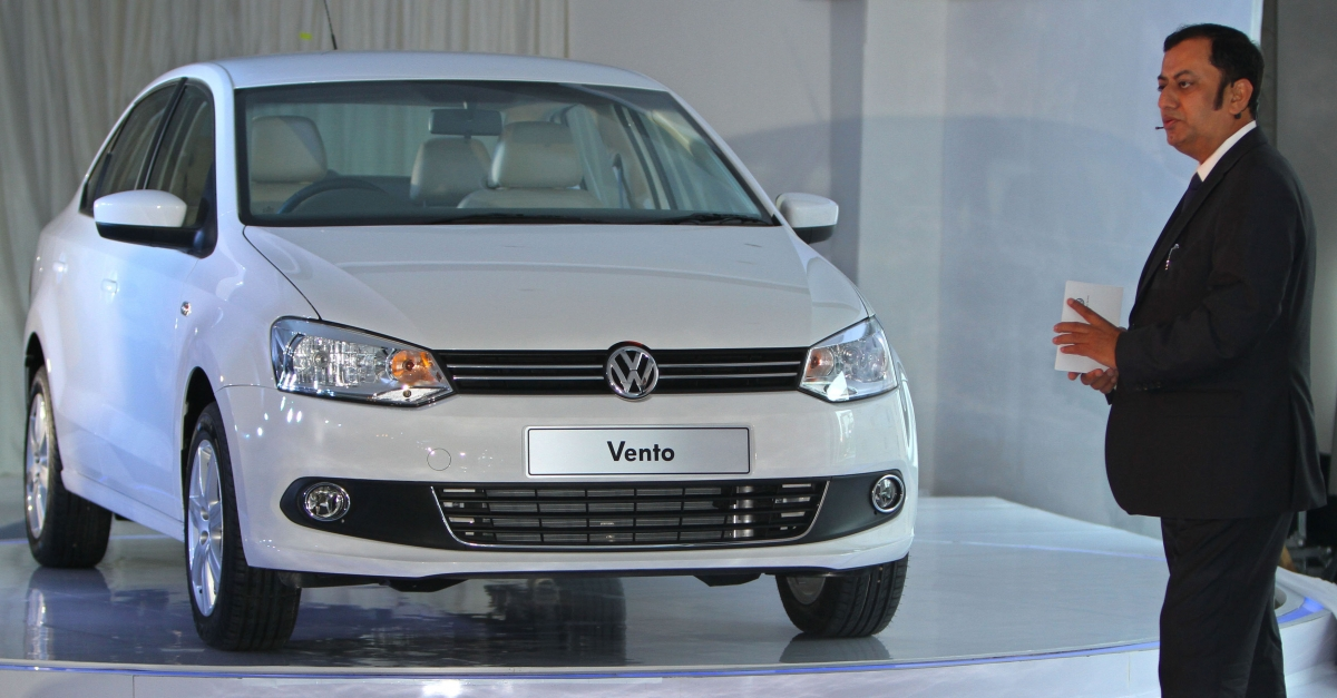 Volkswagen Vento Facelift Spied Inside Out Ahead Of 25 September Launch Price Feature Details Ibtimes India