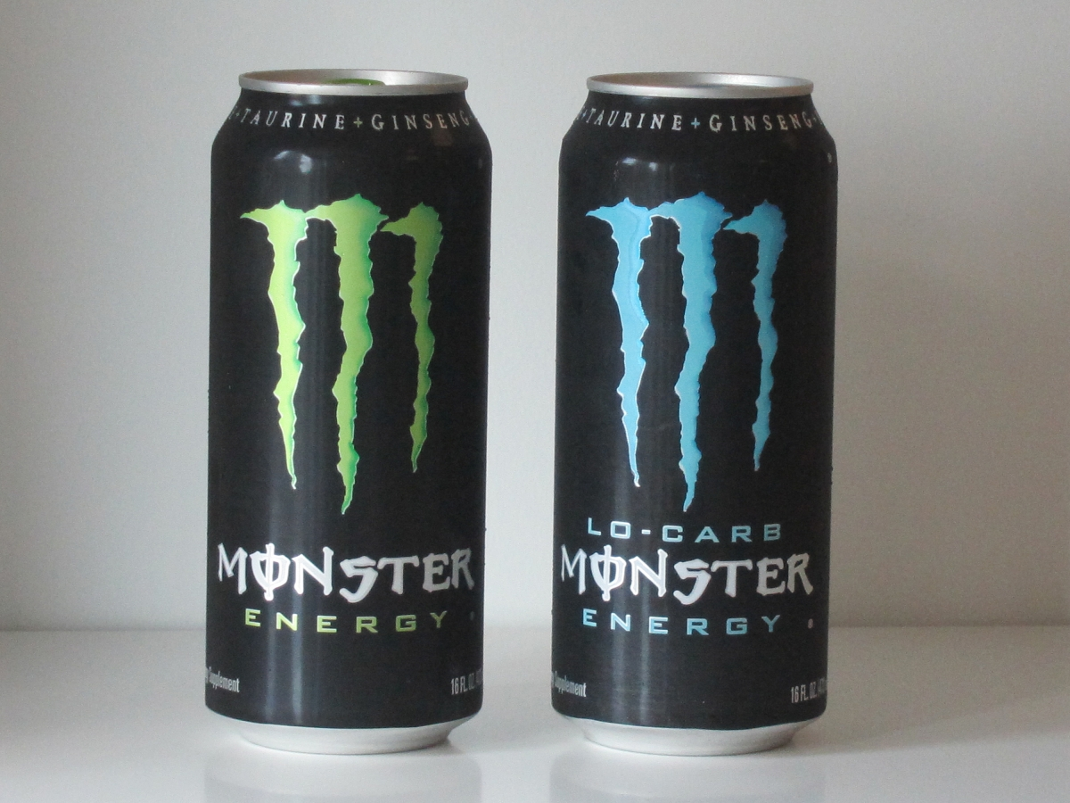 Monster Energy Drink Vav