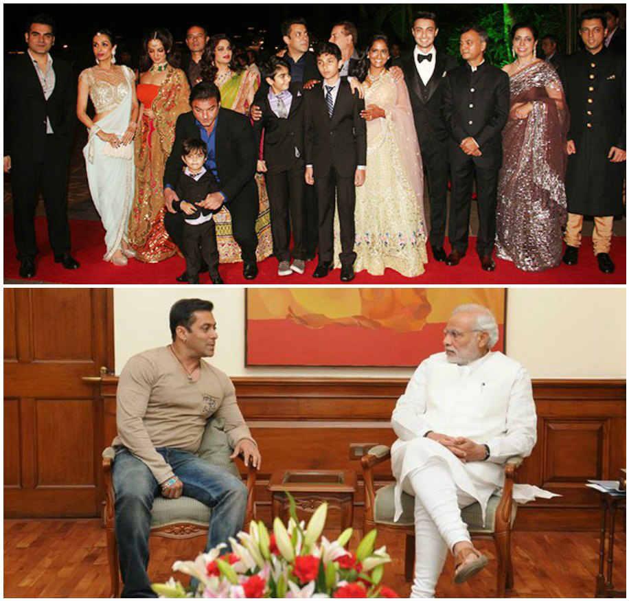 Arpita Khan\'s Wedding Reception: Salman\'s Father Defends Narendra ...