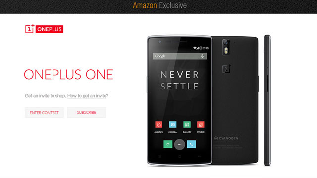 OnePlus One without Invitation in Late November