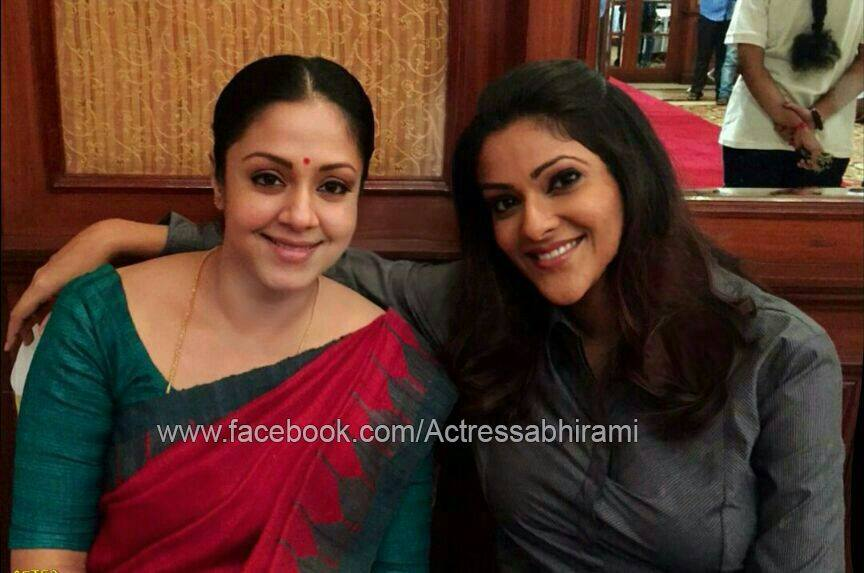 Whether Suriya Acting In Savitri Biopic Movie: Abhirami To Play Jyothika's Best Friend In Tamil Version
