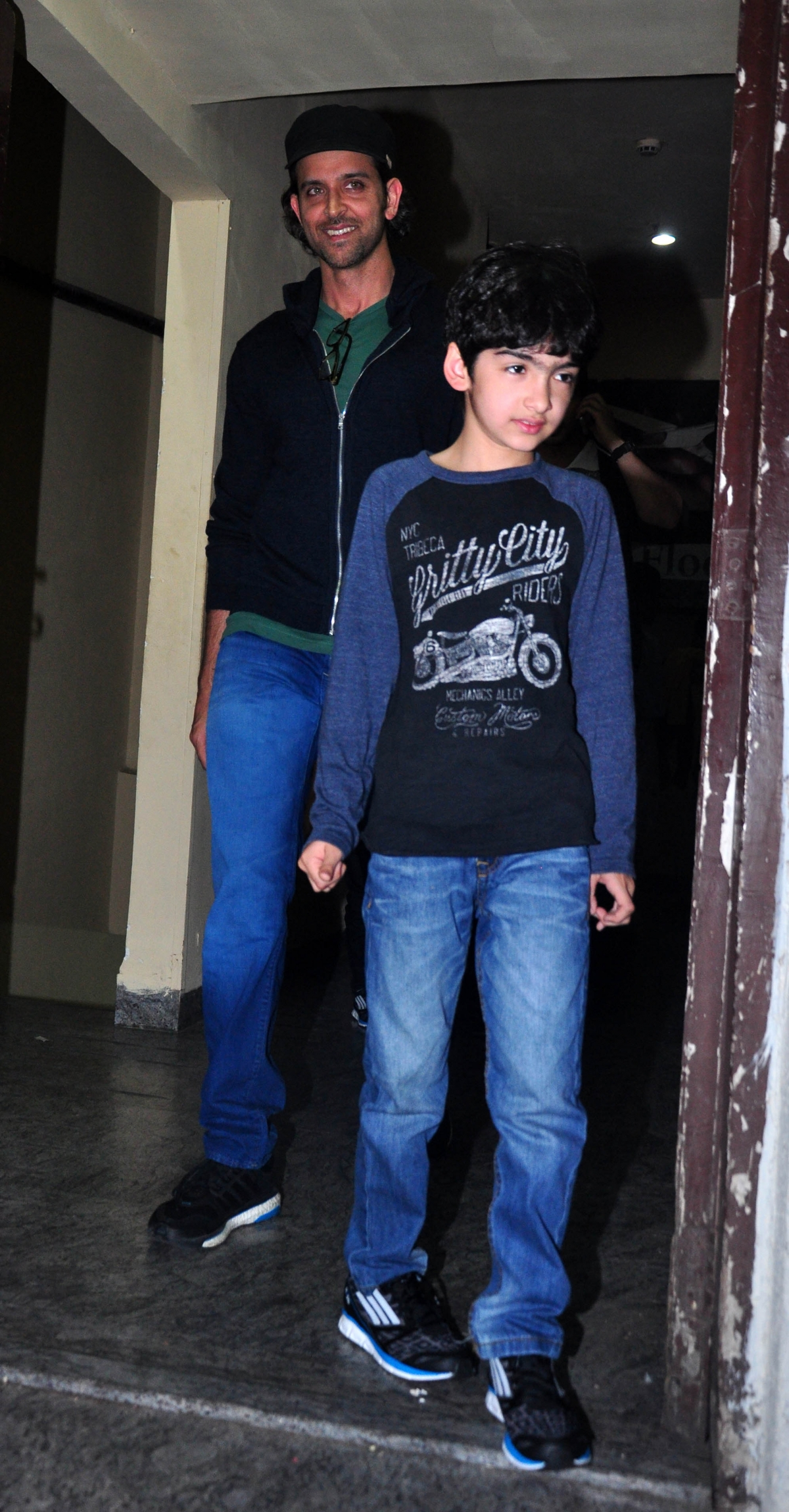 Hrithik Roshan And Zayed Khan Spotted With Their Kids At Mumbai Pvr
