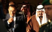 沙特阿拉伯的埃及总统和埃及的阿拉克·巴纳齐尔