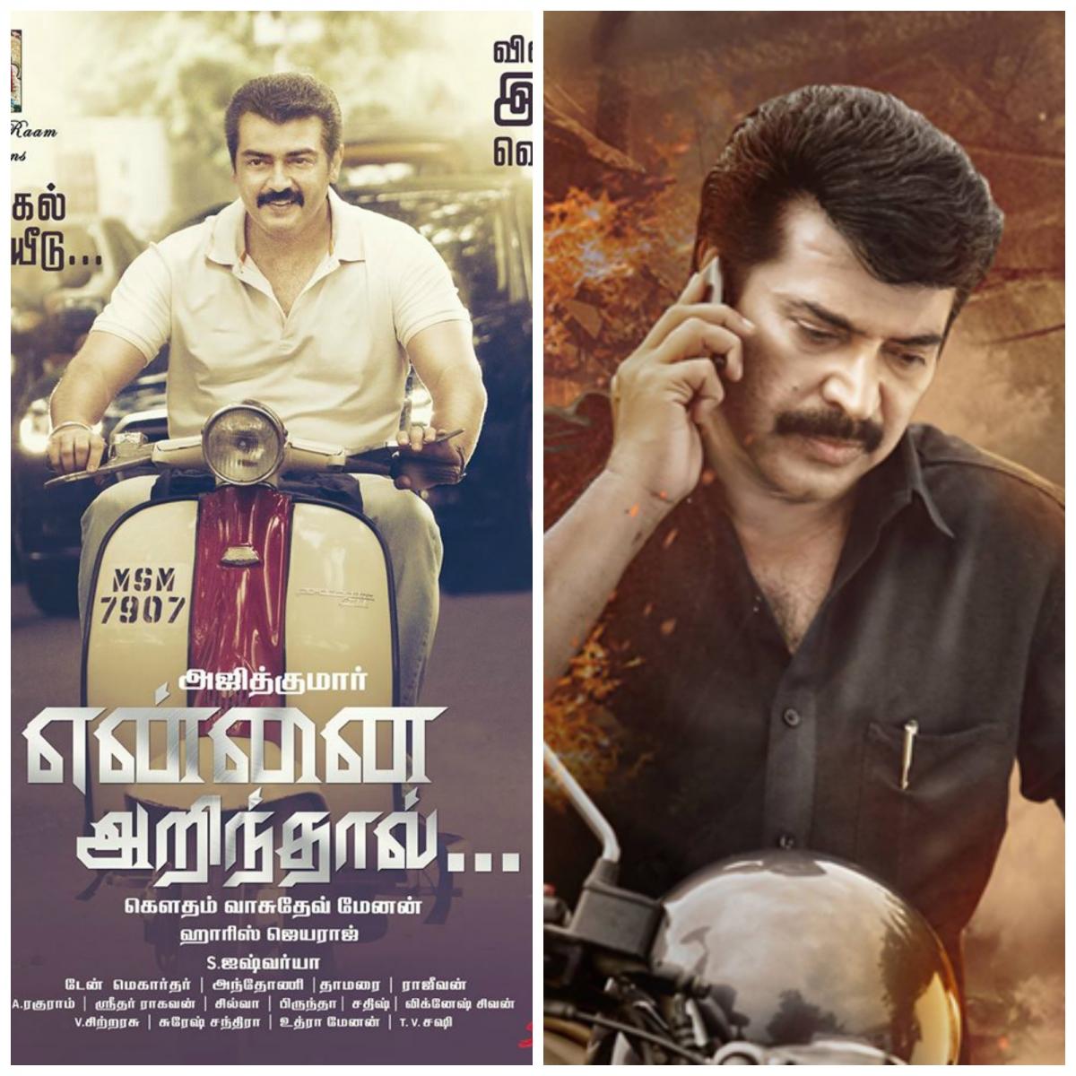 Www Ajith Com Kerala Tourism: Ajith's 'Yennai Arindhaal' Conquers Kerala; Mammootty's