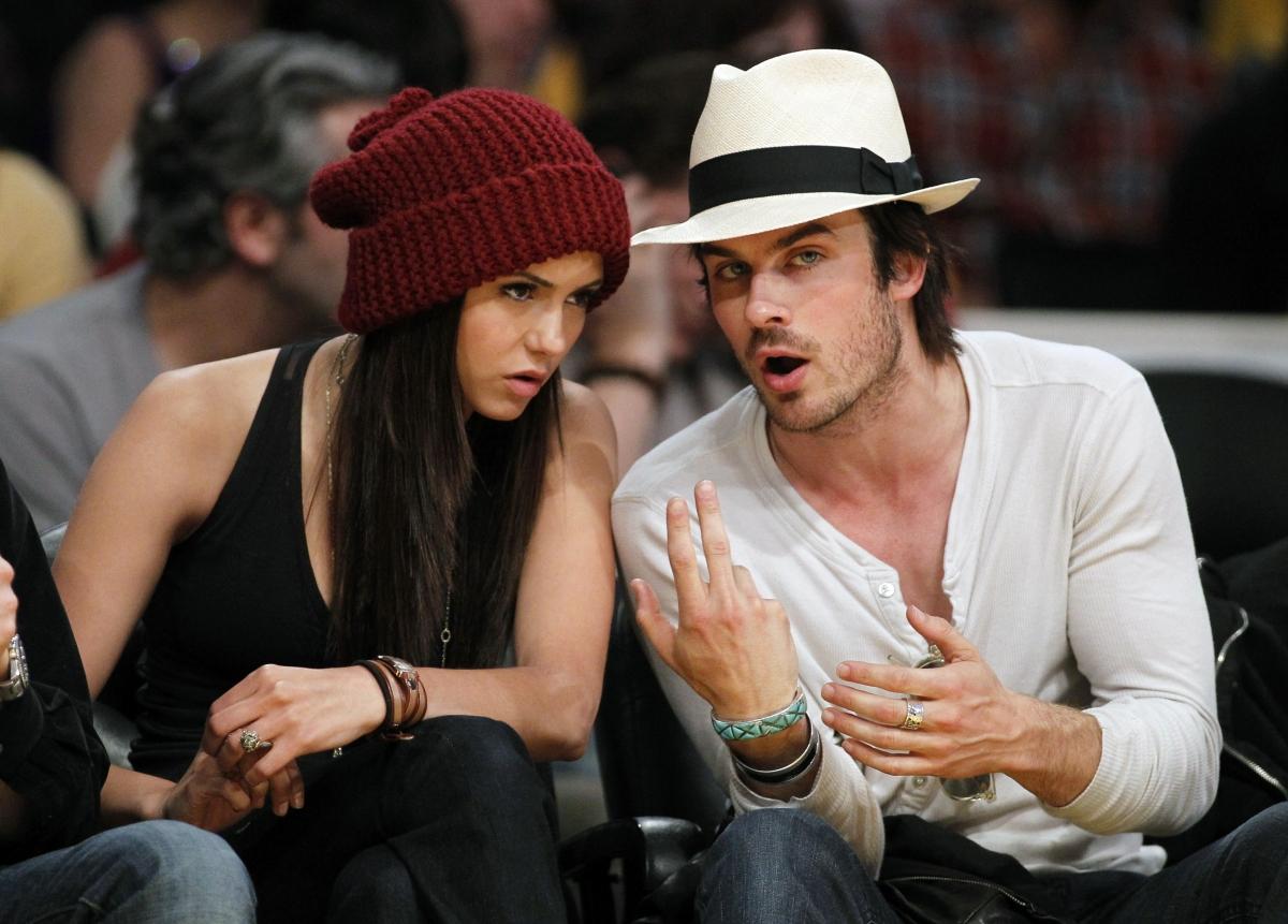 Ian Somerhalder and Nina Dobrev Reunion: They Finally ...