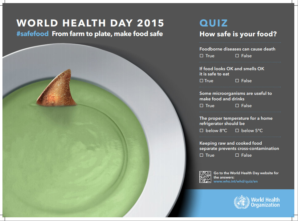 World Health Day 2015 5 Must Know FactsTips And Food Safety Habits To Keep You Healthy