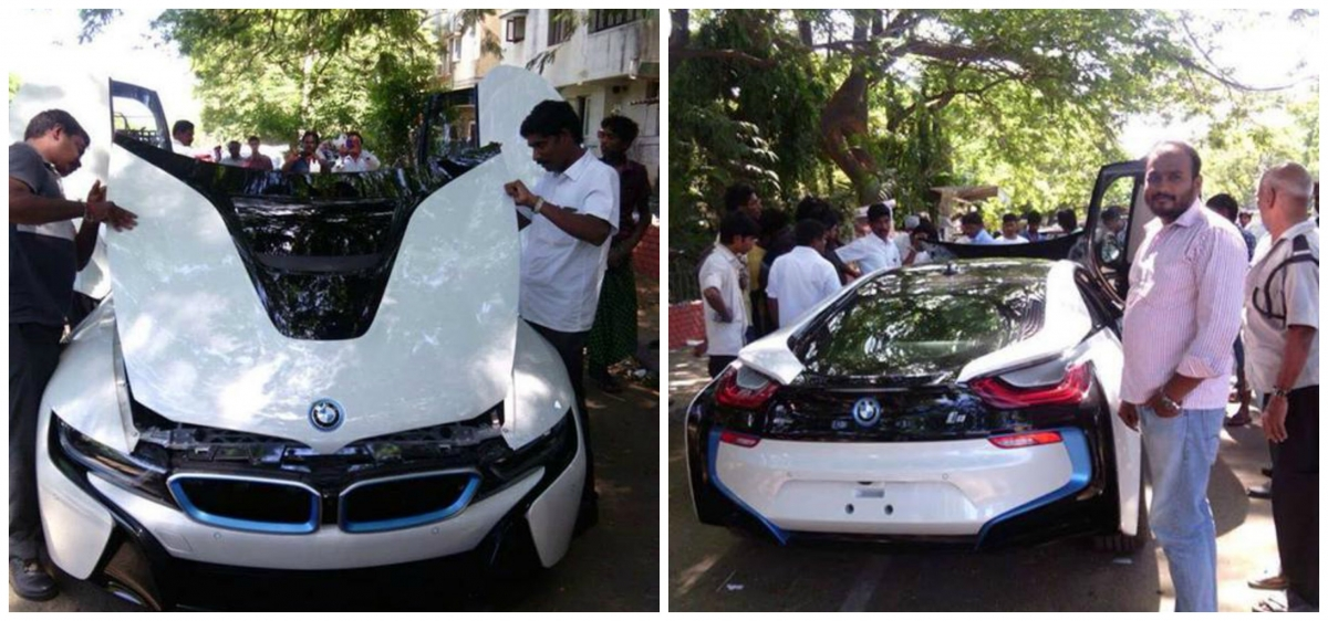 Thala Ajith S Bmw I8 Viral Pictures Are Fake Photos Ibtimes India