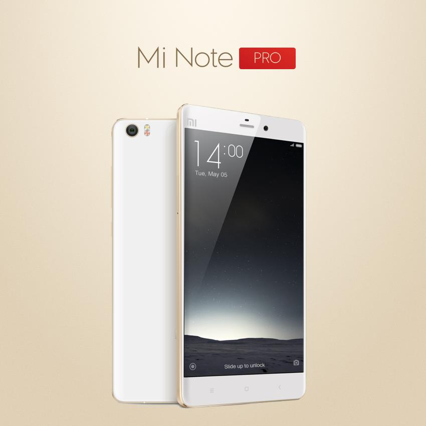 Xiaomi Launches Mi Note Pro with Impetuous Specifications