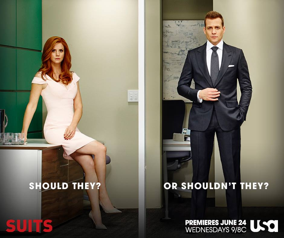 suits season 8 harvey and donna are in love and secretly dating ibtimes india suits season 8 harvey and donna are in
