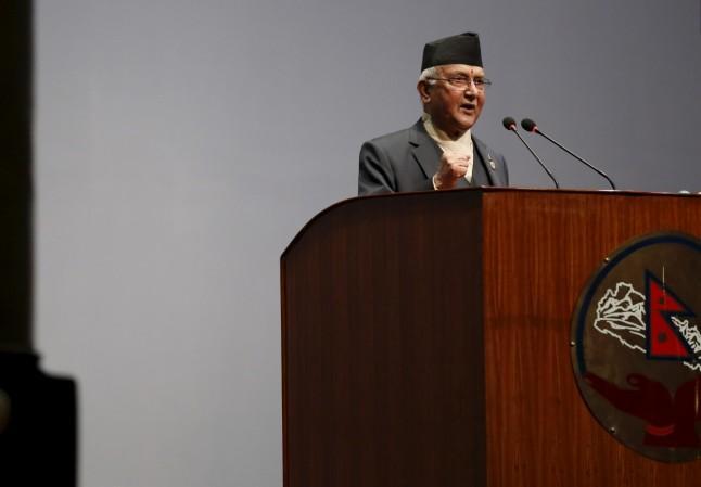 Nepal Başbakanı KP Sharma Oli