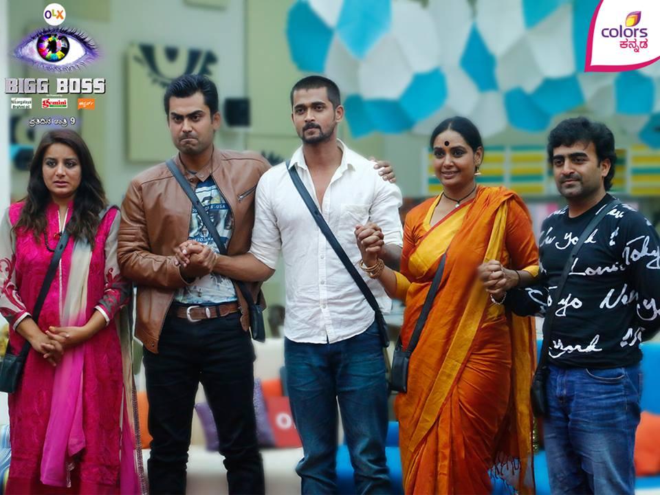 Bigg Boss 3 Kannada: Pooja Gandhi, Master Anand, Chandan, Shruthi