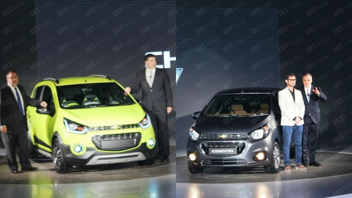 Auto Expo 2016 Chevrolet Beat Essentia Compact Sedan Beat Activ To Be Launched In India In 2017 Ibtimes India