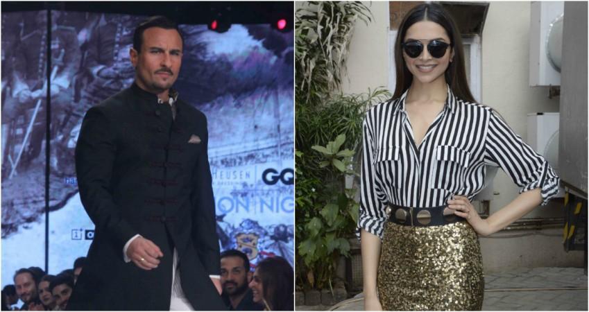 Will Saif Ali Khan romance Deepika Padukone in 'Race 3 ...