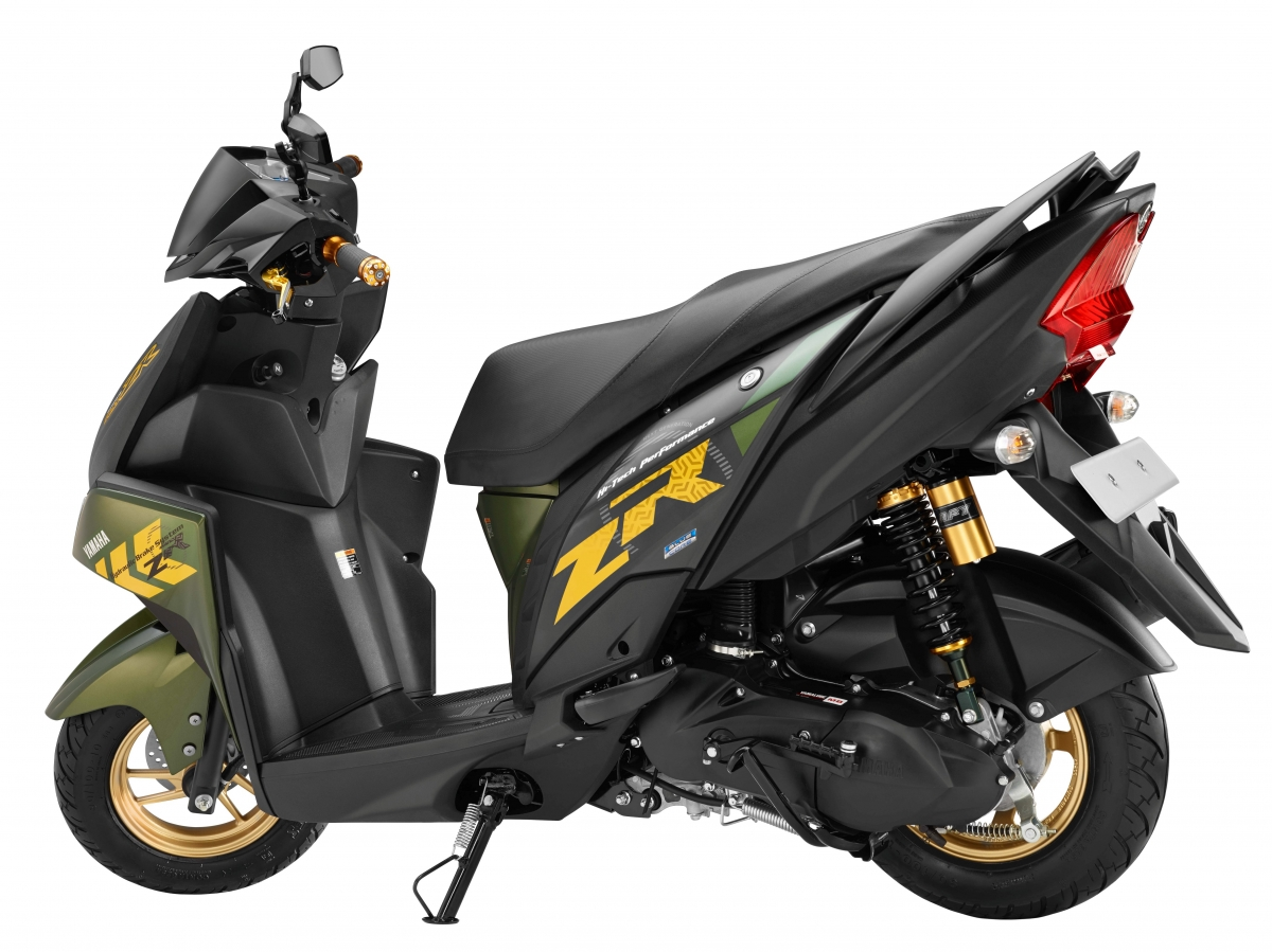 Yamaha Cygnus Ray-ZR scooter launched at Rs 52,000, ex ...