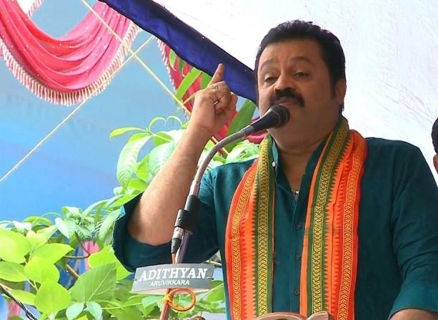 BJP's Suresh Gopi trolled for having lunch from voter's home, reminds  Mohanlal's iconic scene - IBTimes India