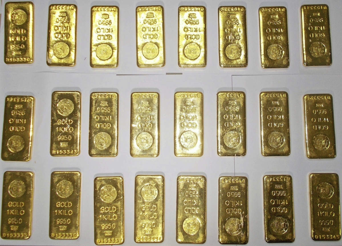 Gold Worth Crores Of Rupees Seized In Delhi Two Persons