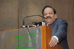 Union Minister for Science & Technology and Earth Sciences Harsh Vardhan