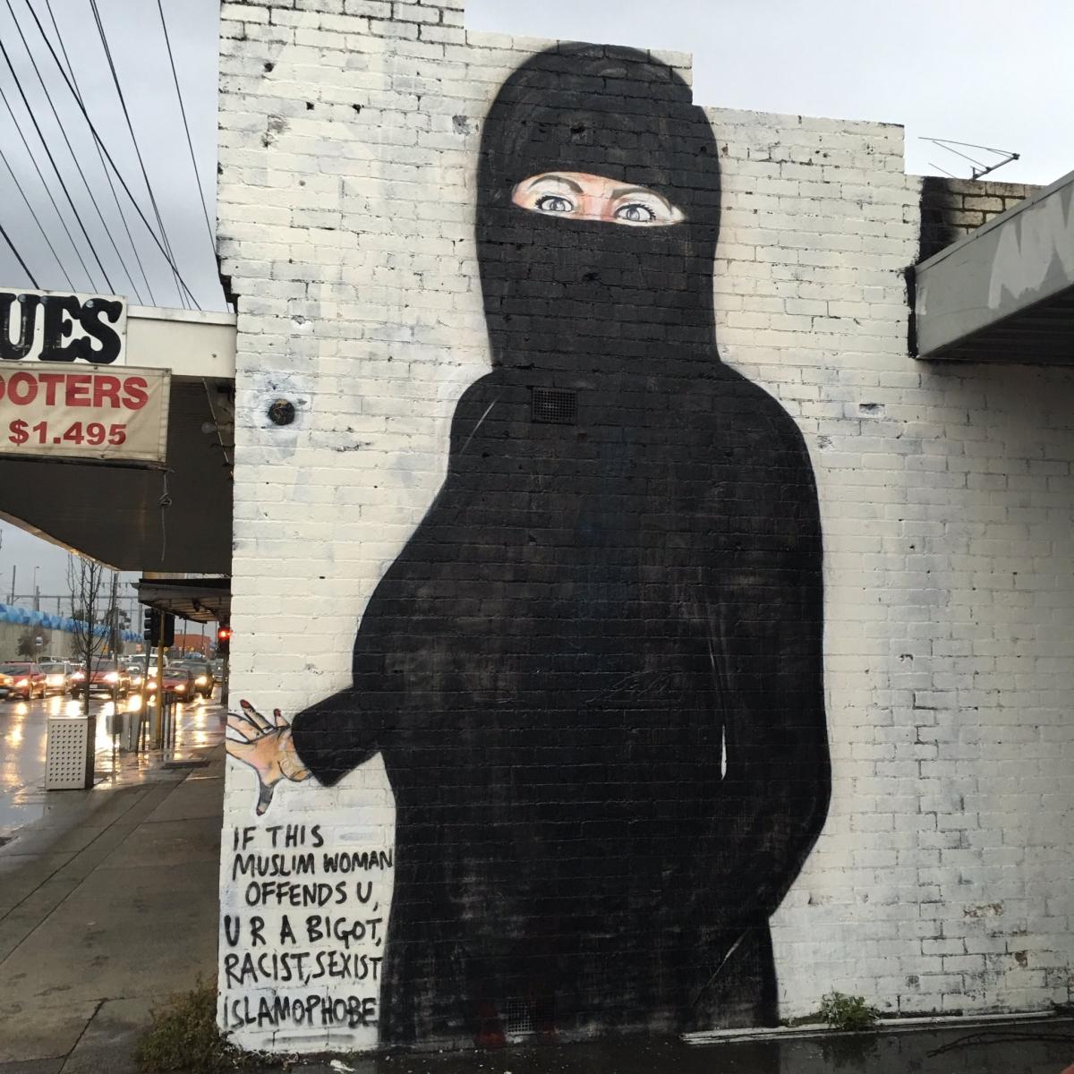 Artist Paints Semi-Nude Graffiti Of Hillary Clinton In -6762