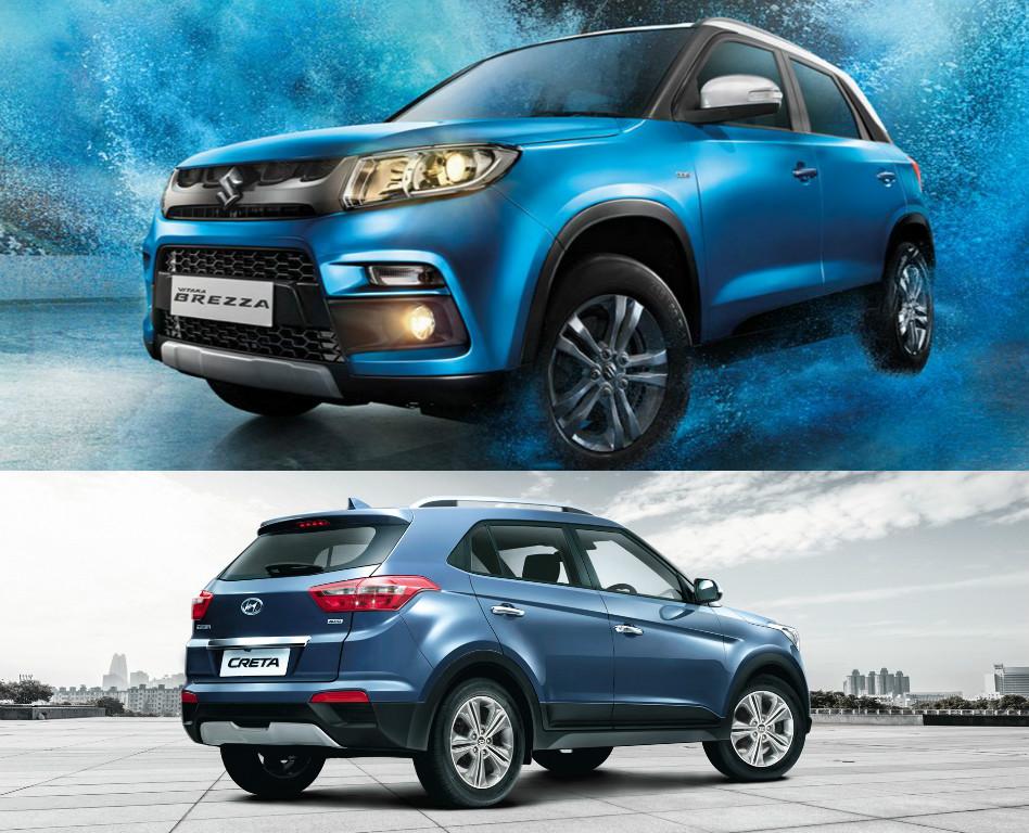 Top Selling Uvs In January Maruti Suzuki Vitara Brezza In