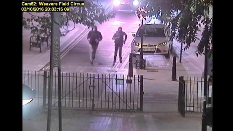 CCTV footage shows three people running away from scene where Jordan Bari was fatally shot in Bethnal Green