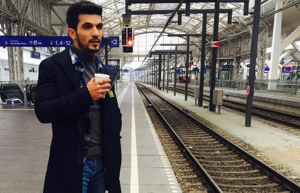 Arjun Bijlani misses his wife while shooting in Austria