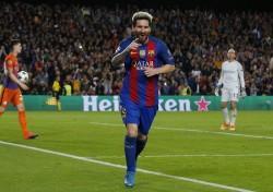 Lionel Messi Barcelona Manchester City