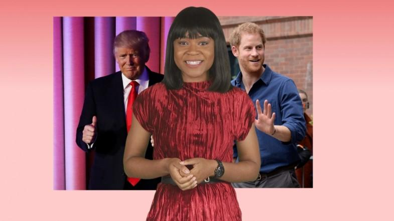 A-list insider: Prince Harry defends girlfriend Meghan Markle, celebs react to Donald Trump surprise victory