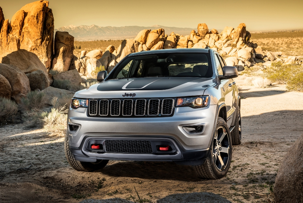 Jeep Grand Cherokee Trailhawk to be launched in India in December