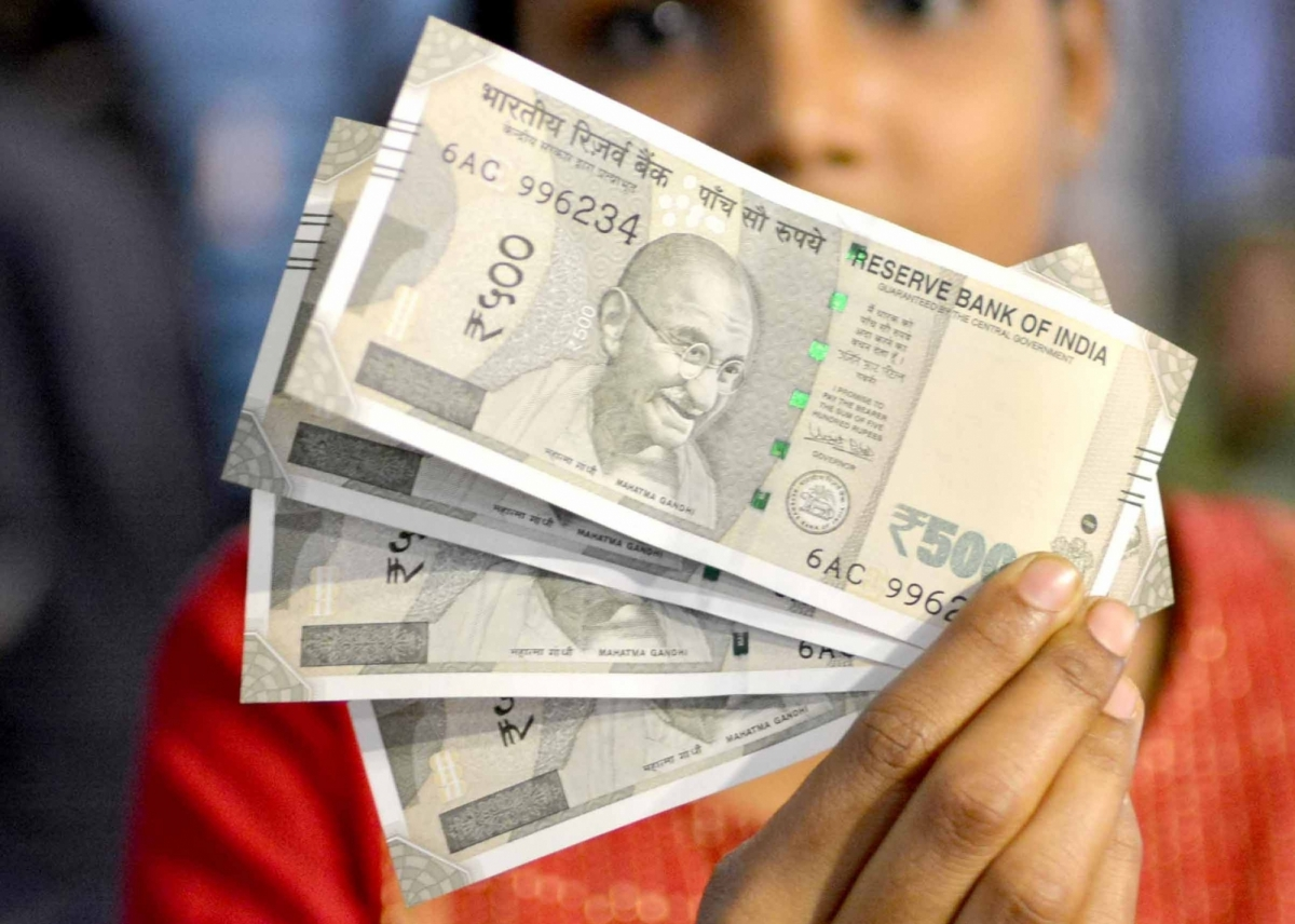 Rupee Rebounds 20 Paise Against US Dollar