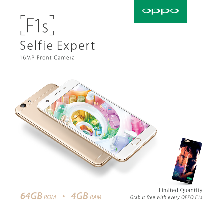 Oppo F1s gets an upgrade to battle big players with 4GB RAM