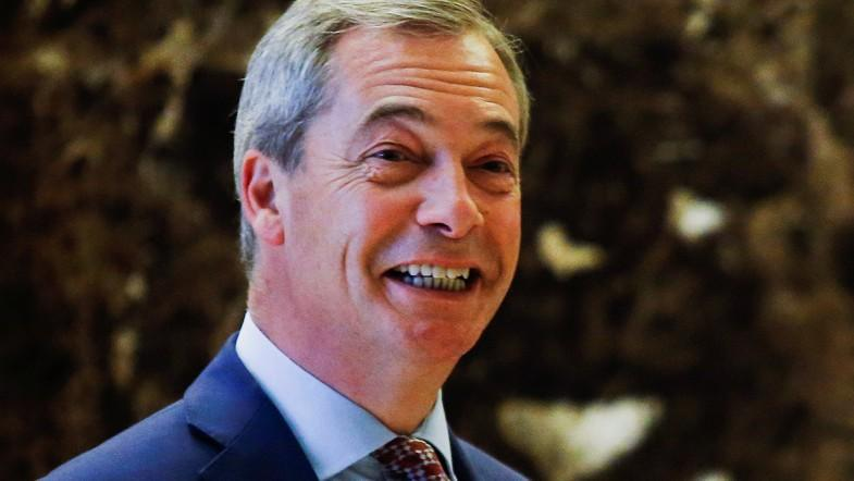 Nigel Farage is very flattered by Donald Trumps UK ambassador comments
