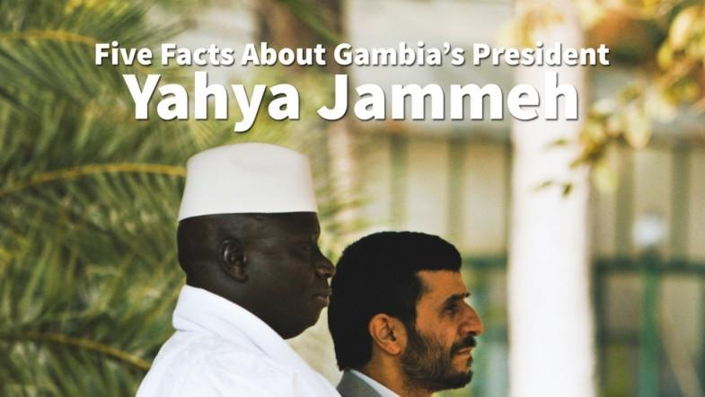 Five facts about Gambias president Yahya Jammeh