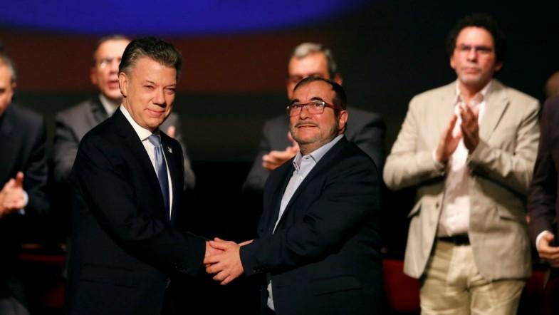 Colombia signs amended peace deal with FARC rebels