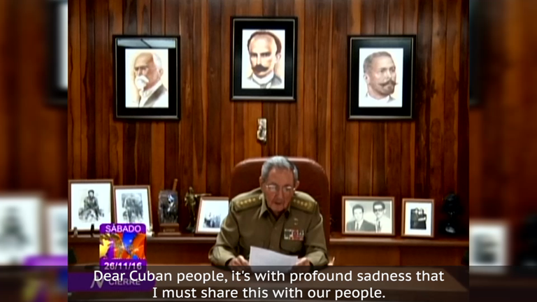 World reacts to Fidel Castros death
