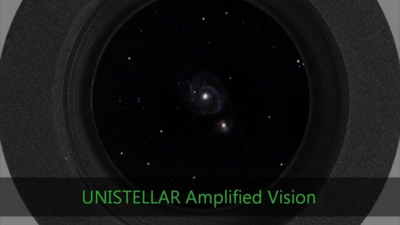 Take a look into the hidden universe through a telescope using light amplification technology