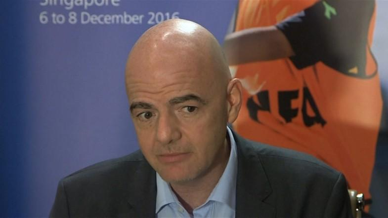 Fifa President Gianni Infantino defends 48-team World Cup proposal
