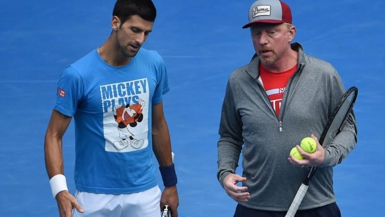 Novak Djokovic splits with coach Boris Becker