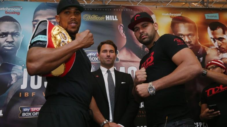 Anthony Joshua vows to make Eric Molina look like a novice in IBF heavyweight title fight