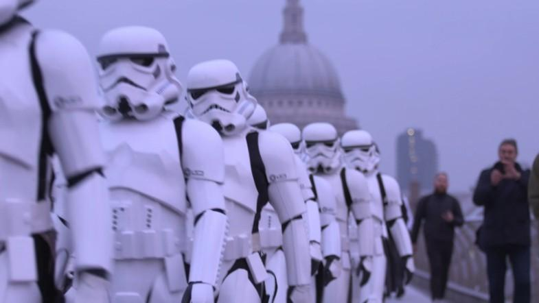 Stormtroopers invade London ahead of Rogue One release