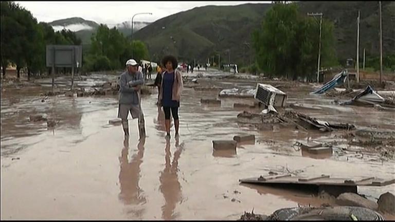 Deadly floods in Argentina cancel Dakar Rally stage