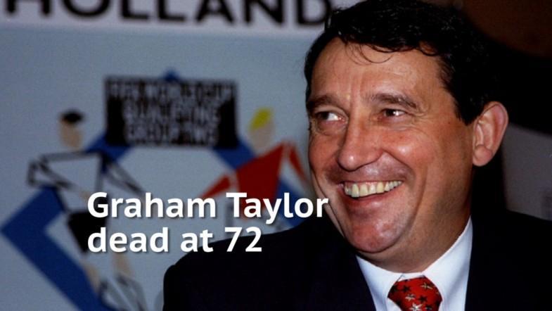 Former England manager Graham Taylor dead at 72