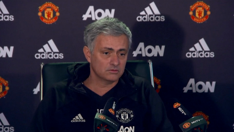 Jose Mourinho urges Manchester United fans to show their support against Liverpool